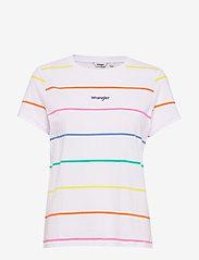 Wrangler - REGULAR TEE - short-sleeved - real white - 0