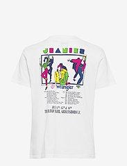 Wrangler - HIGH RIB REGULAR TEE - logo t-shirts - white - 1