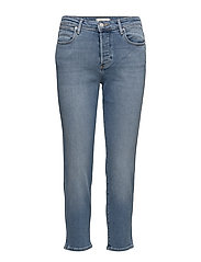 CROPPED STRAIGHT  BLUE JEAN BABY - BLUE JEAN BABY