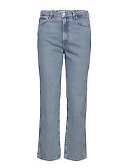 RETRO STRAIGHT JEANS - KURT BLUE