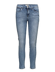 HIGH RISE SKINNY JEANS - BEST BLUE