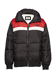 SKI JACKET - FADED BLACK