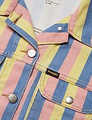 Wrangler - CROPPED JACKET - vestes en jean - sunny stripes - 2