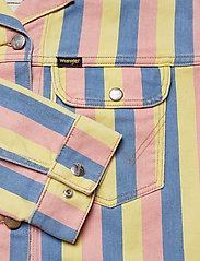 Wrangler - CROPPED JACKET - vestes en jean - sunny stripes - 3