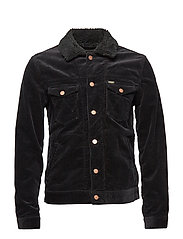 SHERPA JACKET - BLACK