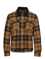 WOOL TRUCKER - GOLDEN BROWN