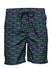 SWIM SHORT - AMAZON GREEN