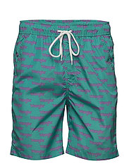 SWIM SHORT - BEACH GLASS