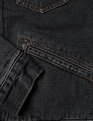 Wrangler - 124WJ SHERPA - jeansjackor - black 2 years - 3