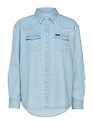 WESTERN SHIRT - LIGHT INDIGO