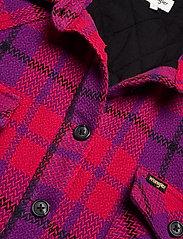 Wrangler - WESTERN SHIRT JACKET - overshirts - ultraviolet - 2