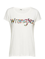 WRANGLER TEE SHIRT - OFFWHITE