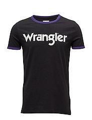 RINGER TEE - WASHED BLACK