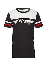 RUGBY TEE - FADED BLACK