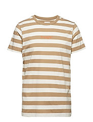 STRIPE TEE - CORNSTALK