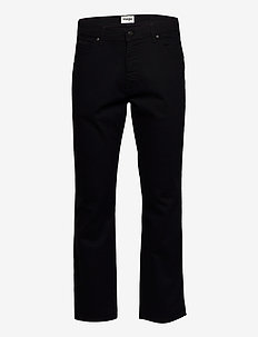 TEXAS - relaxed jeans - black