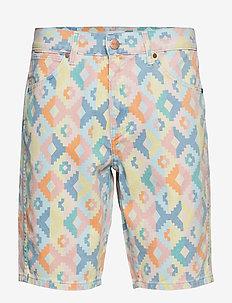 5 POCKET SHORT - casual shorts - navajo print