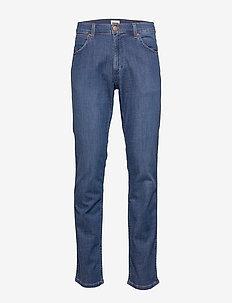 GREENSBORO - regular jeans - limelite blue