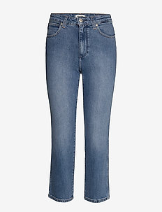 THE RETRO - straight jeans - mid blue
