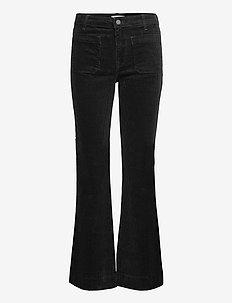 FLARE - uitlopende jeans - black