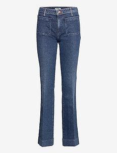FLARE - uitlopende jeans - true vintage