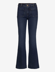 FLARE - flared jeans - cascade