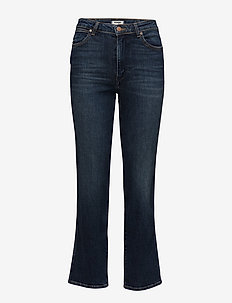 RETRO STRAIGHT JEANS - WONDER BLUE