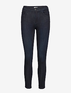 HIGH RISE SKINNY - BLUE BLACK