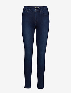 HIGH RISE SKINNY - SUBTLE BLUE