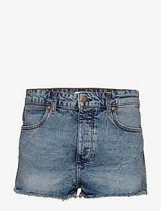 THE SHORT - denim shorts - blue hawaii