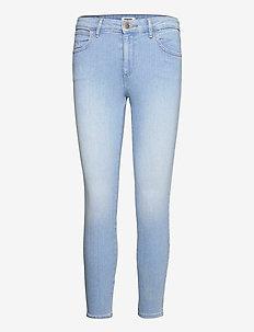 SKINNY CROP - skinny jeans - soft sunfade