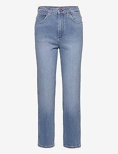 WILD WEST - straight jeans - mid blue