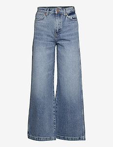 HERITAGE WIDE LEG - - flared jeans - heritage light