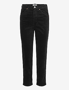 11WWZ - straight jeans - black
