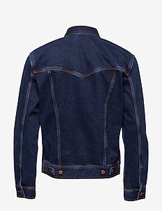 AUTH WESTERN JACKET BLUE - jeansjackor - blue black