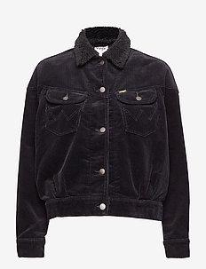 80´S WESTERN JACKET - kurtki dżinsowe - black