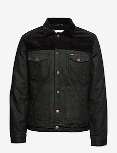 SHERPA JACKET BLACK - BLACK