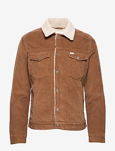 SHERPA JACKET - RUSSET BROWN