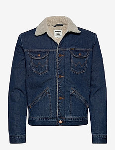 124WJ SHERPA - denim jackets - 6 months