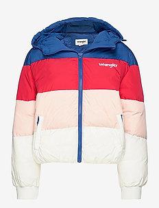RAINBOW PUFFER - down- & padded jackets - wrangler blue