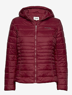 PUFFER JACKET - CORDOVAN RED