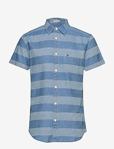 SS 1PKT SHIRT - LIGHT INDIGO