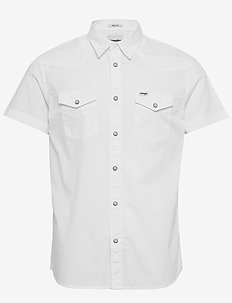 SS WESTERN SHIRT - white