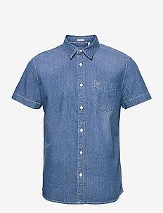 SS 1 PKT SHIRT - basic shirts - light summer