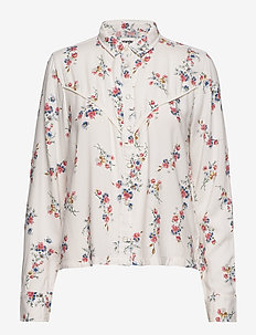 FLOWER SHIRT - OFFWHITE
