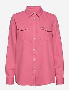 JEANIES SHIRT - jeansowe koszule - bubblegum pink