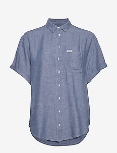 SUMMER SHIRT - farkkupaidat - blue shadow