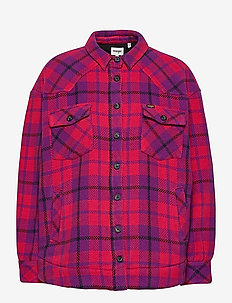 WESTERN SHIRT JACKET - overshirts - ultraviolet