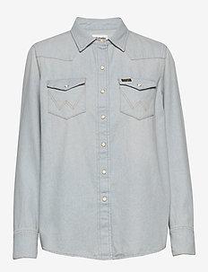 27WW - jeansowe koszule - icons bleach