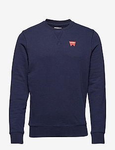 SIGN OFF SWEAT - basic sweatshirts - navy